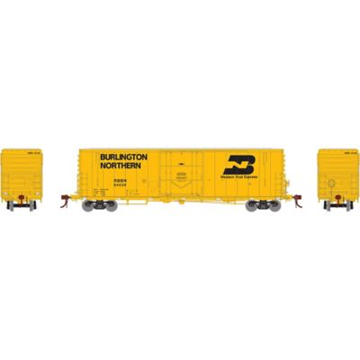 """Athearn G26779 HO 50' PC&F Welded Box w/10'6"""" Door, RBBN #64539"""