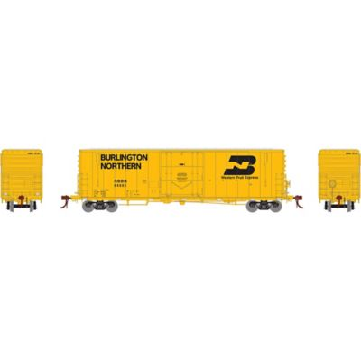 """Athearn G26782 HO 50' PC&F Welded Box w/10'6"""" Door, RBBN #64551"""