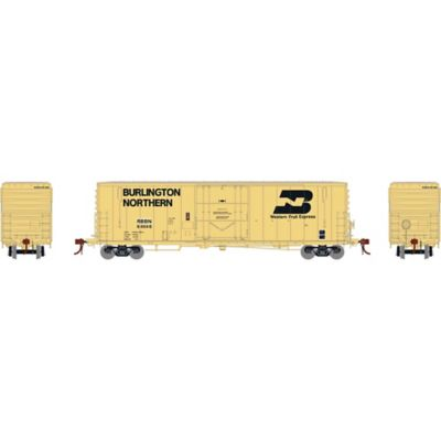 """Athearn G26783 HO 50' PC&F Welded Box w/10'6"""" Door, RBBN #64546"""