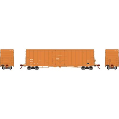 """Athearn G26803 HO 50' PC&F Riveted Box w/10'6"""" Door, WCRC #10121"""