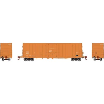 """Athearn G26804 HO 50' PC&F Riveted Box w/10'6"""" Door, WCRC #10123"""