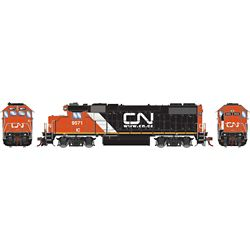 Athearn G68754 HO GP38-2 Canadian National/IC w/Website Logo #9571