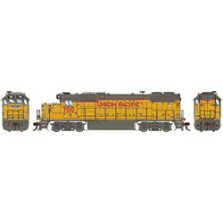 Athearn G68861 HO GP38-2 w/DCC & Sound Union Pacific/RCL/Baby Wings #700