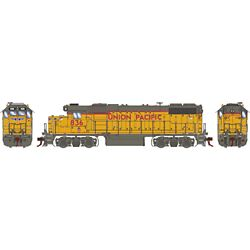 Athearn G68862 HO GP38-2 w/DCC & Sound Union Pacific/RCL/Baby Wings #836
