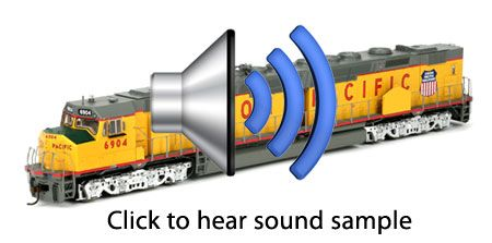 Dcc trains with sound effects