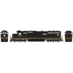 Athearn G70607 HO SD70 w/DCC & Sound, IC/Yellow Stripe #1002 ATHG70607