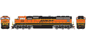 HO EMD SD75M Diesel Locomotive