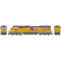 Athearn G70660 HO SD70M w/DCC & Sound Union Pacific UP/Early Flare #4870