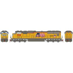 Athearn G70662 HO SD70M w/DCC & Sound Union Pacific UP/Late Flare #5068