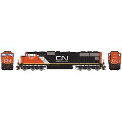 Athearn G70669 HO SD70I w/DCC & Sound Canadian Nation CN #5617