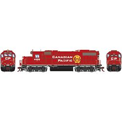 Athearn G71800 HO GP38-2 w/DCC & Sound Canadian Pacific/Beaver Logo #4405
