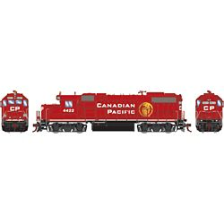 Athearn G71801 HO GP38-2 w/DCC & Sound Canadian Pacific/Beaver Logo #4422