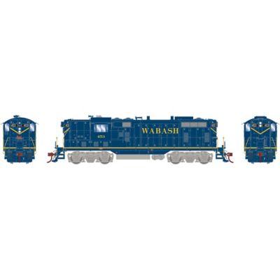 Athearn G78159 HO GP7, Wabash/Blue #453