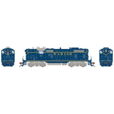 Athearn G78160 HO GP7, Wabash/Blue #462