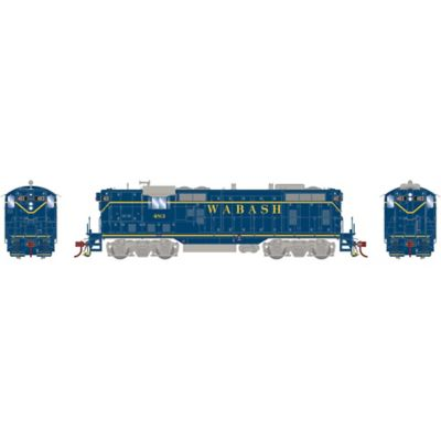 Athearn G78161 HO GP7, Wabash/Blue #483