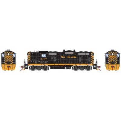 Athearn G78242 HO GP7 w/DCC & Sound, D&RGW  #5107