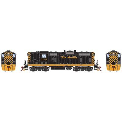 Athearn G78243 HO GP7 w/DCC & Sound, D&RGW  #5108