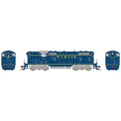 Athearn G78258 HO GP7 w/DCC & Sound, Wabash/Blue #450