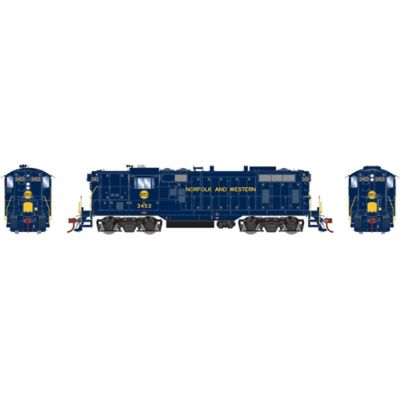 Athearn G78262 HO GP7 w/DCC & Sound, N&W Ex Wabash #3453