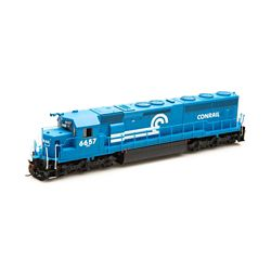 Athearn G86224 HO SD45-2 w/DCC & Sound, CR/Blue Early #6657 ATHG86224