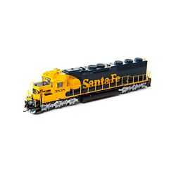 ATHG86228 Athearn Inc HO SD45-2 w/DCC & Sound, SF/Freight #5838