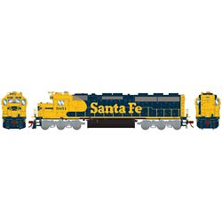 ATHG86230 Athearn Inc HO SD45-2 w/DCC & Sound, SF/Freight #5851