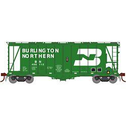 Athearn G87674 HO GATC 2600 Airslide Hopper Burlington Northern BN #400112