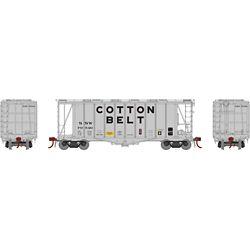 Athearn G87682 HO GATC 2600 Airslide Hopper Cotton Belt SSW #79546
