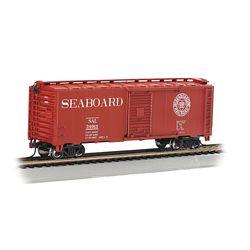 Bachmann 17005 HO Pullman-Standard 40' Steel Boxcar Series Seaboard Air Line #24963 Heart Logo