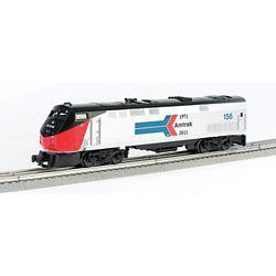 Bachmann 23302 O GE P42 Genesis 3-Rail w/True Blast Plus Prime Mover Horn & Bell Williams Amtrak #156