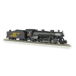 Bachmann 54305 HO USRA Light 37295 Mikado w/Medium Tender w/Sound & DCC Maine Central #54305