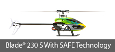 Blade 230 S SAFE RC Technology