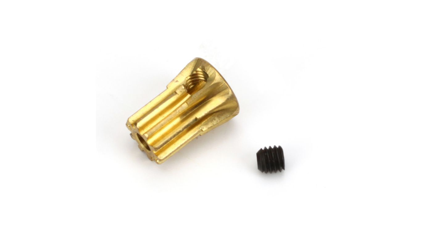 Image for Pinion Gear, 10T 0.5M: B450, B400 from HorizonHobby