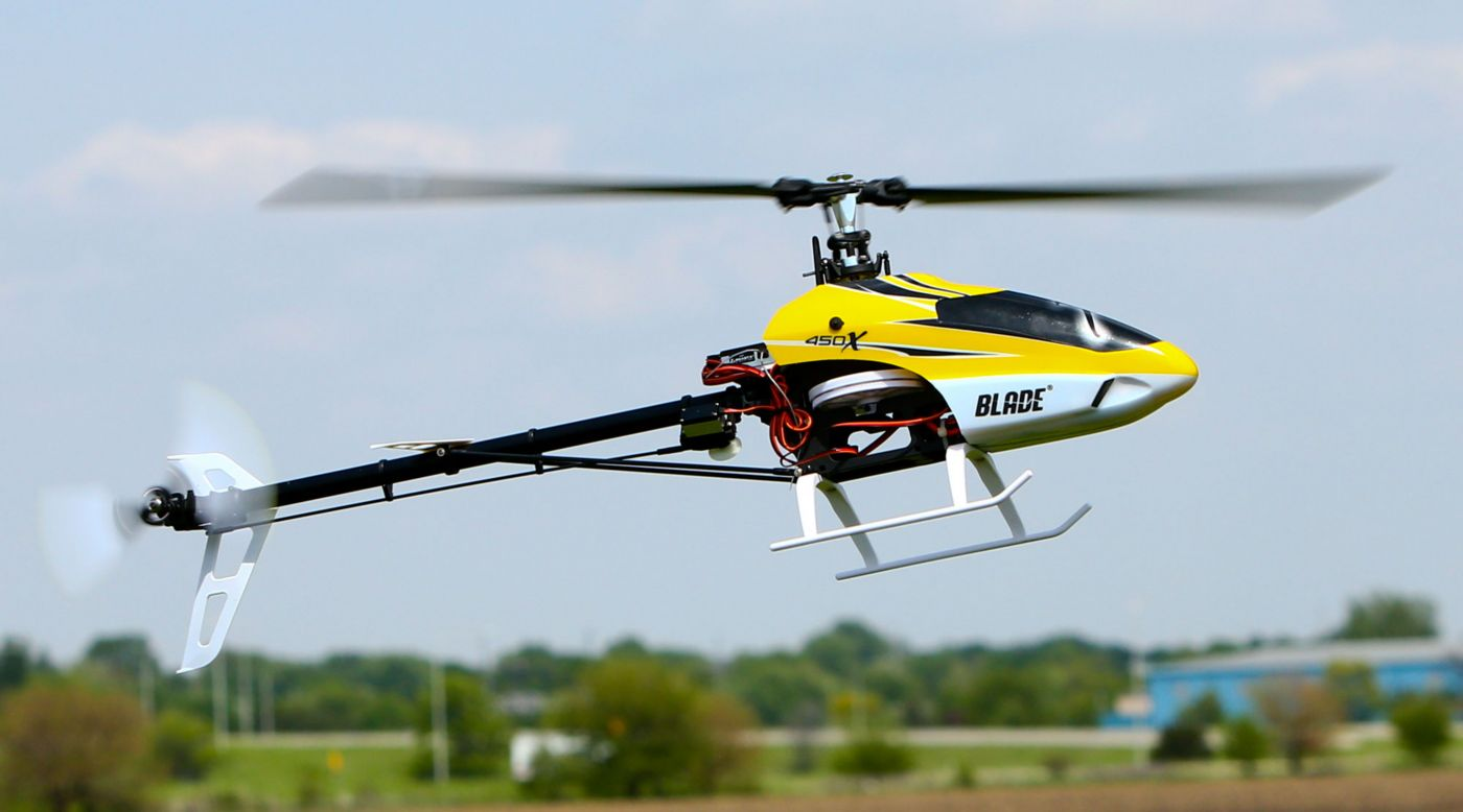 Blade 450 X Rtf Rc Flybarless Helicopter With Beastx