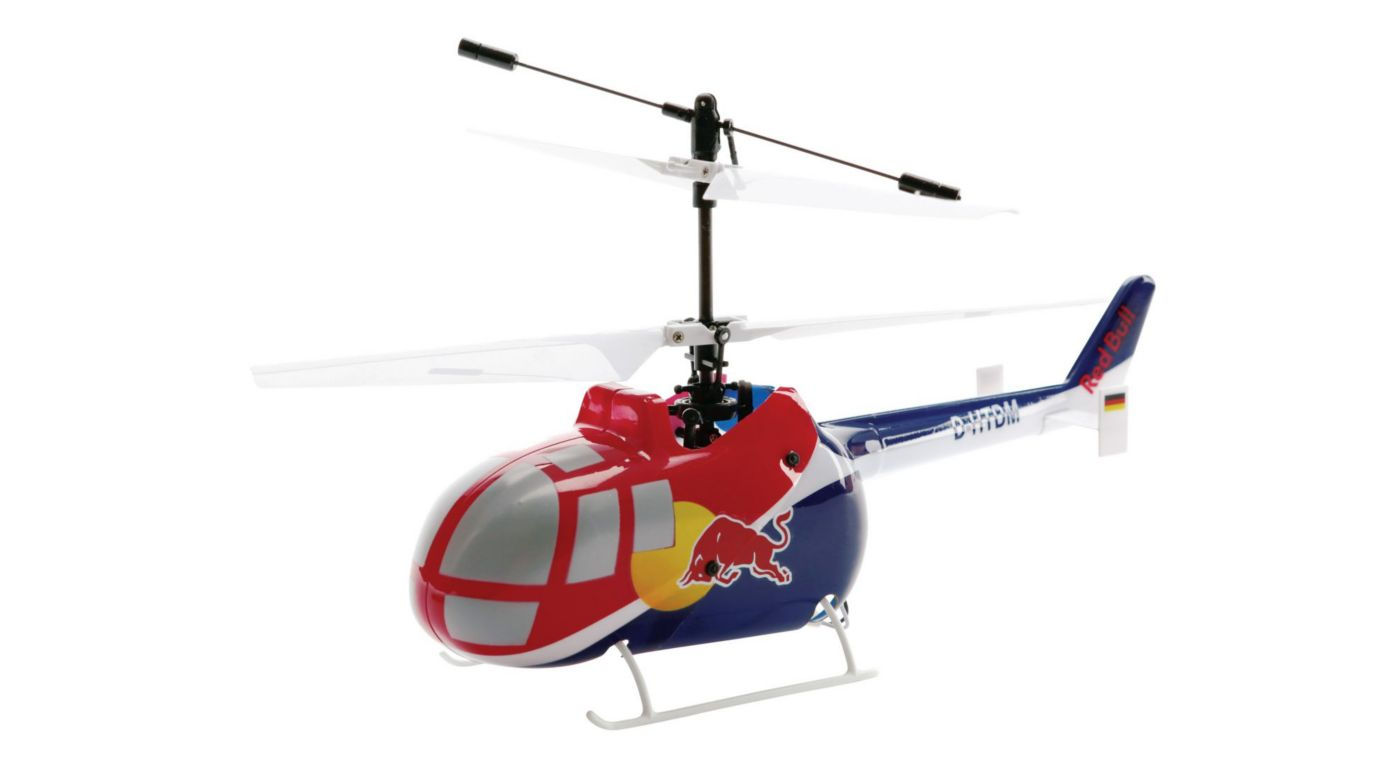 Image for Red Bull BO-105 CB CX RTF Helicopter from HorizonHobby