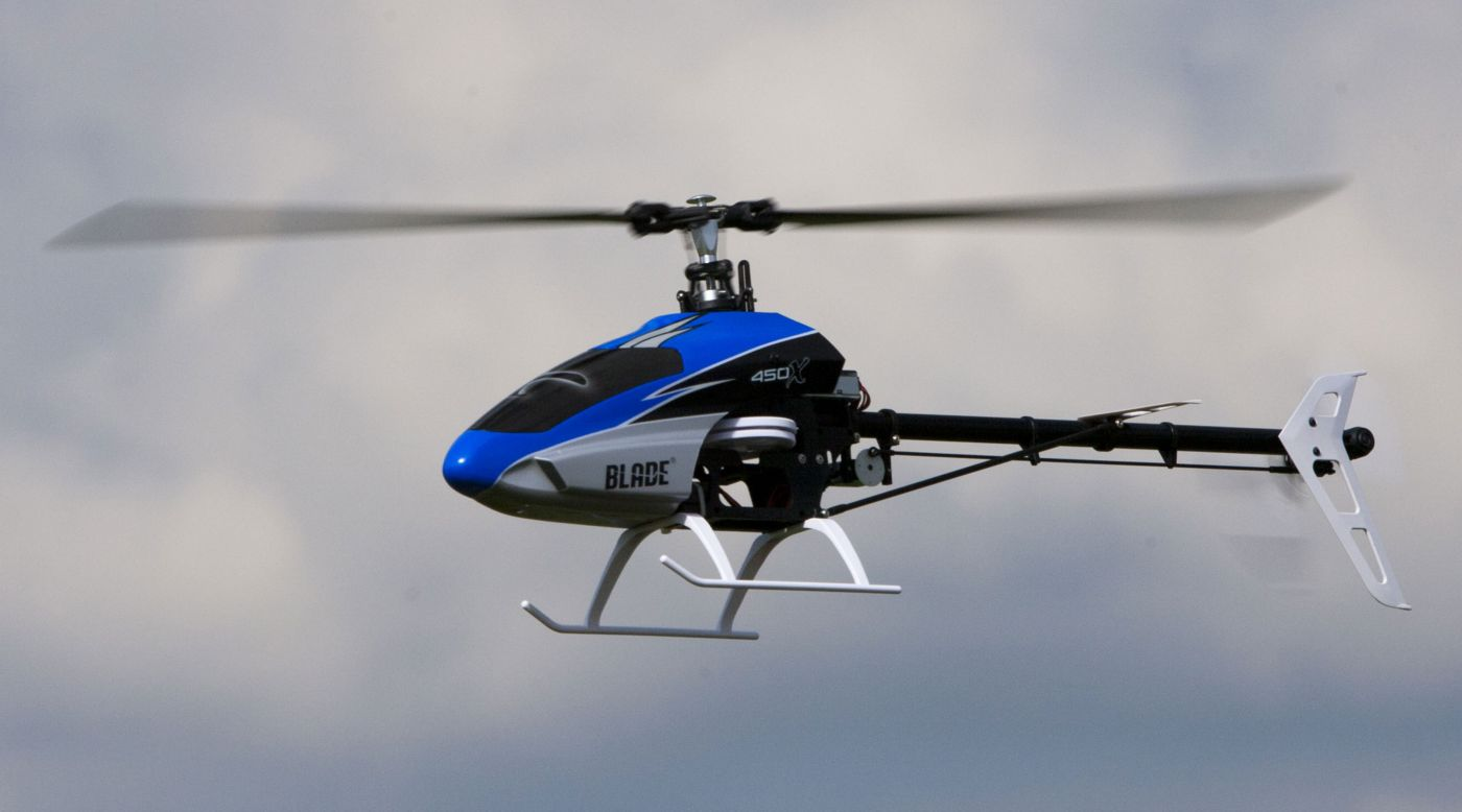 Blade 450 X Flybarless 3d Rc Helicopter Bnf With Beastx