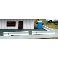 Atlas BLM4107 HO Concrete K-Rail Barrier -8 150 -BLM4107