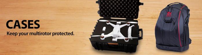 Drone Multirotor Quad Quadcopter Case Transport