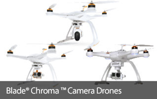 Blade CHROMA aerial photography RC quadcopters