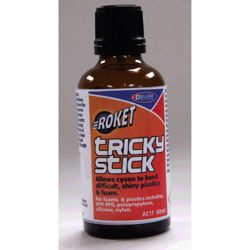 Deluxe Materials AC17 Tricky Stick CA Surface Prep 1.7oz 50mL 806-AC17