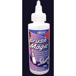 Deluxe Materials AC19 Brush Magic Cleaner 4.2oz 125mL 806-AC19