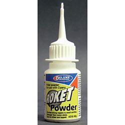 Deluxe Materials AD18 Roket Powder CA Filler Powder 1.4oz 40g 806-AD18