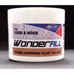 Deluxe Materials BD48 Wonderfill Foam & Wood Filler 8.1oz 240ml 806-BD48