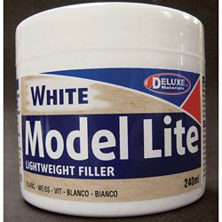 Deluxe Materials BD5 Model Lite Wood Filler 8.1oz 240ml 806-BD5