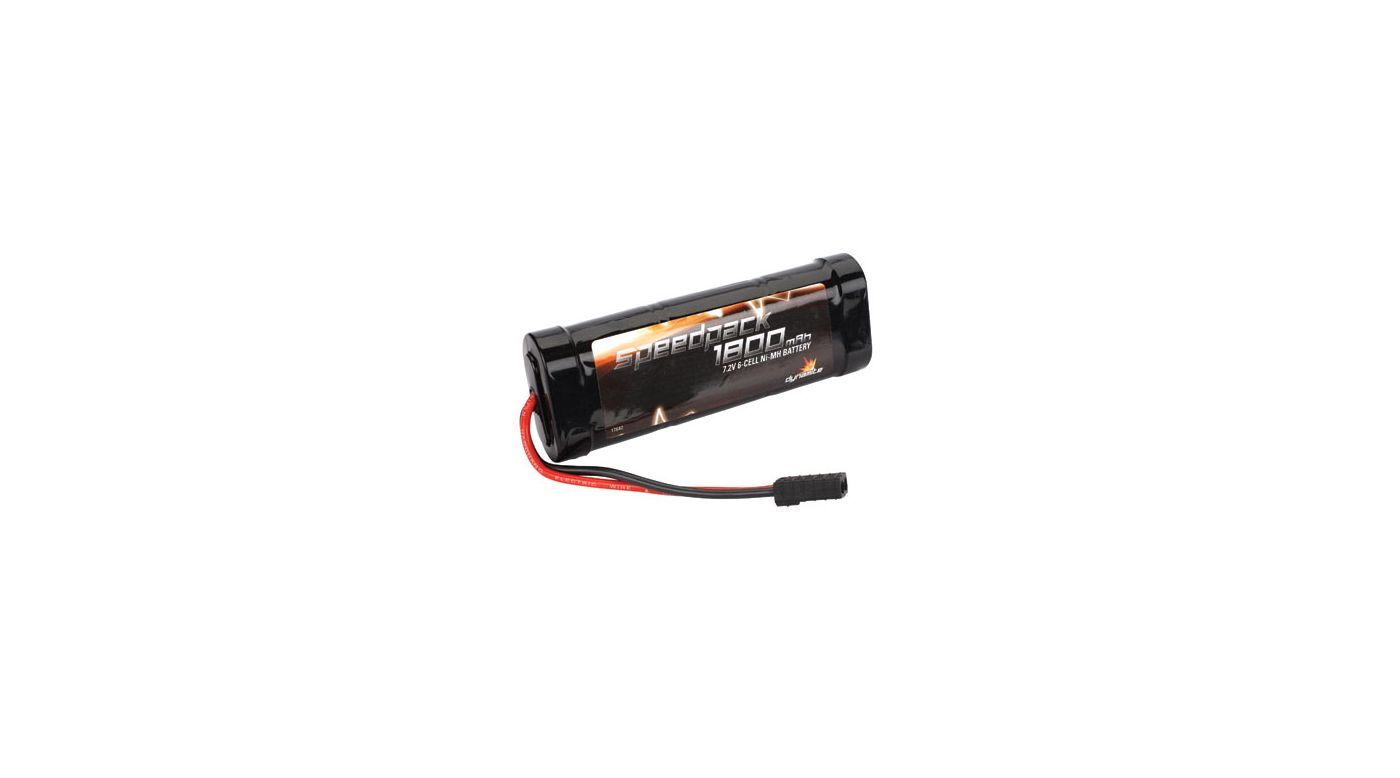 Image for Speedpack 1800mAh Ni-MH 6-Cell Flat with TRA Conn from HorizonHobby