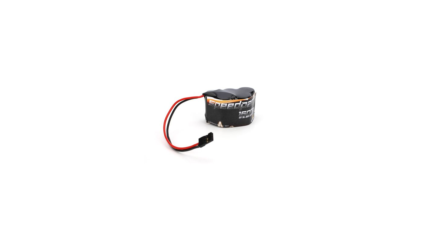 Image for 6V 1600mAh Ni-MH Receiver Pack, 3+2 Hump from HorizonHobby