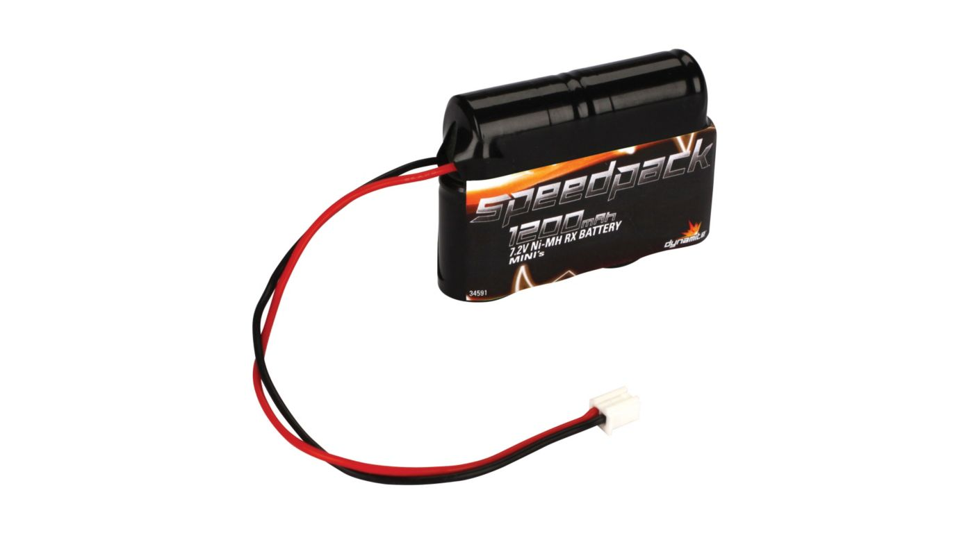 Image for 7.2V 1200mAh NiMH Battery  Minis from HorizonHobby