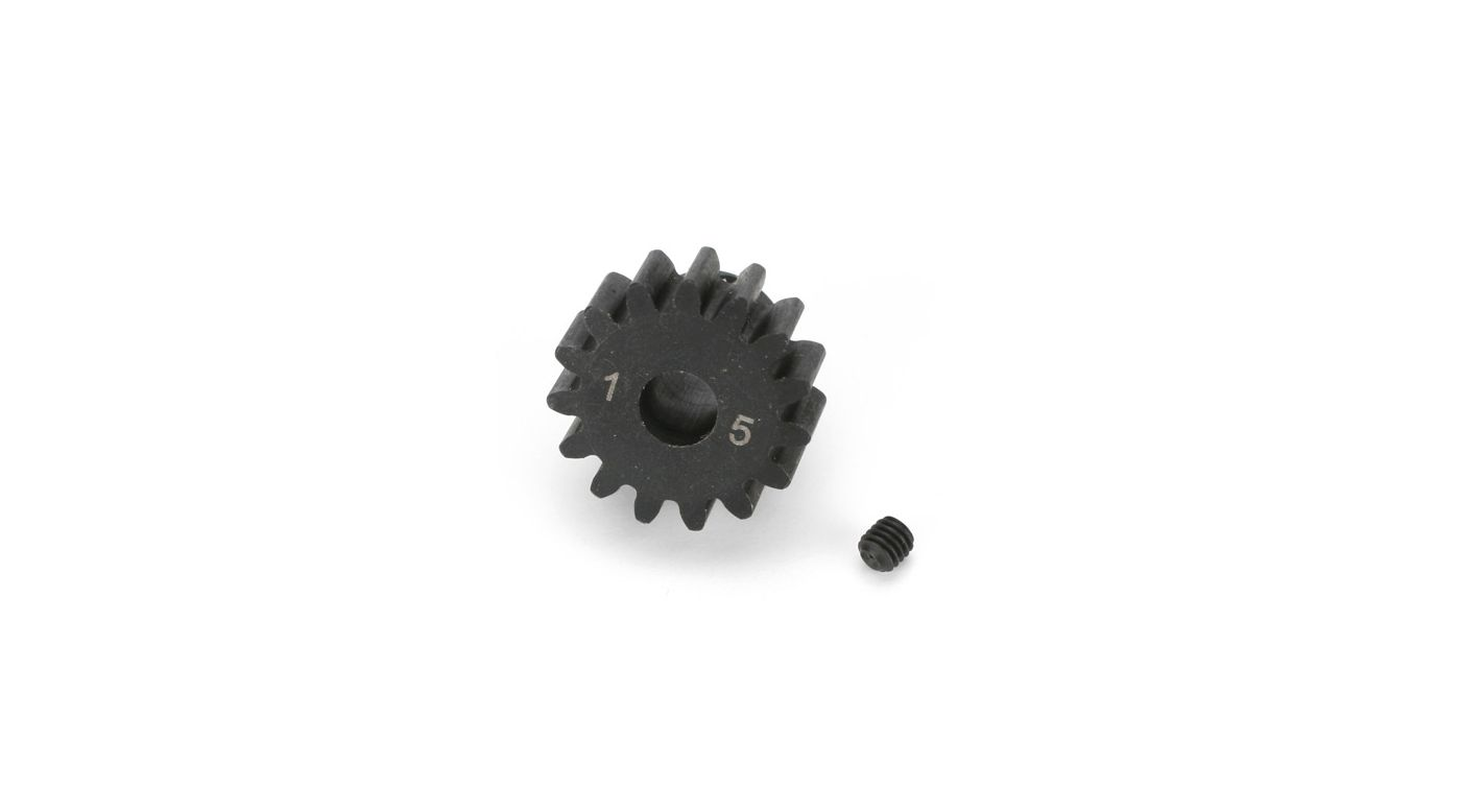 Image for 1/8TH BL Pinion, 15T 5mm Bore, 1MOD from HorizonHobby