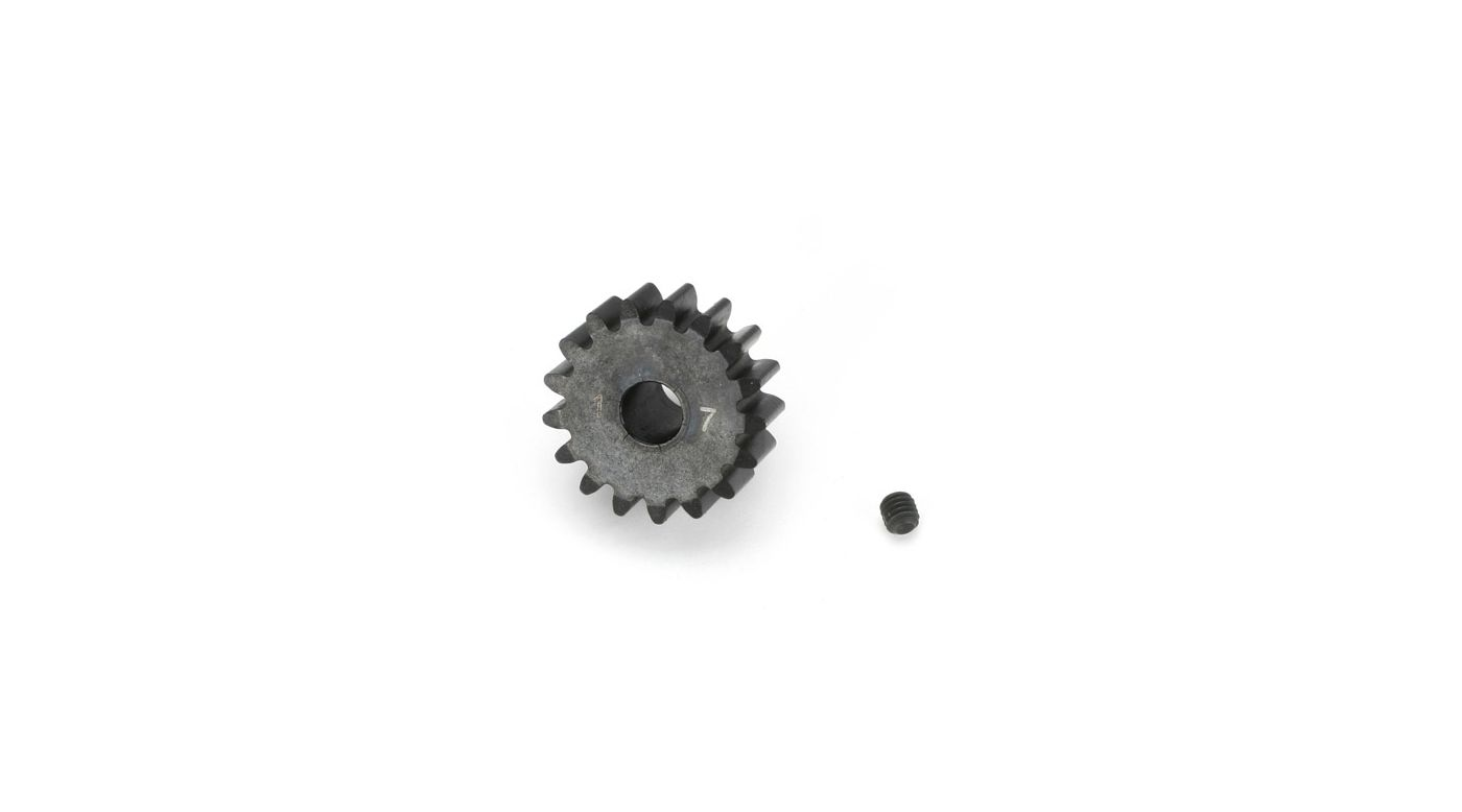 Image for 1/8TH BL Pinion, 17T 5mm Bore, 1MOD from HorizonHobby