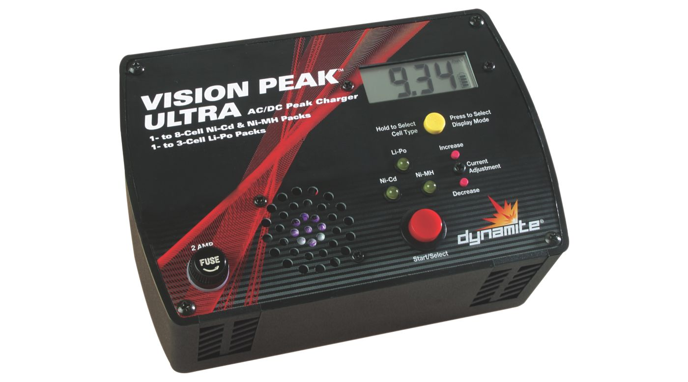 Image for Vision Peak Ultra AC/DC Charger from HorizonHobby